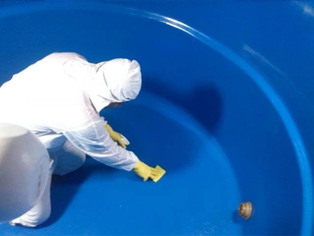 Como limpar a caixa d'água?
